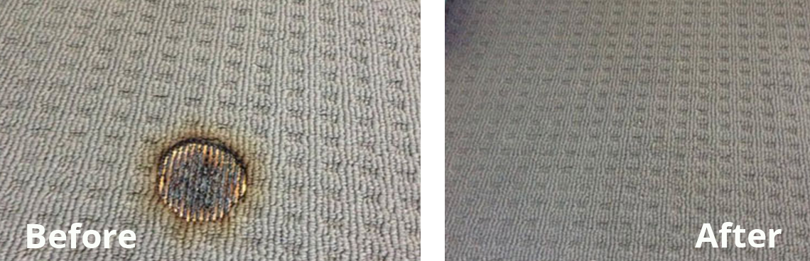 Carpet Patch Before and After Image